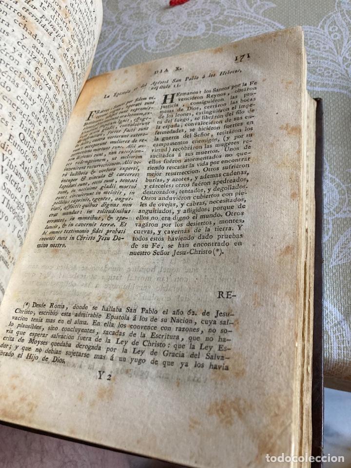 Libros antiguos: Lote de 2 libros año cristiano 1795, primera edición - Foto 7 - 288338918