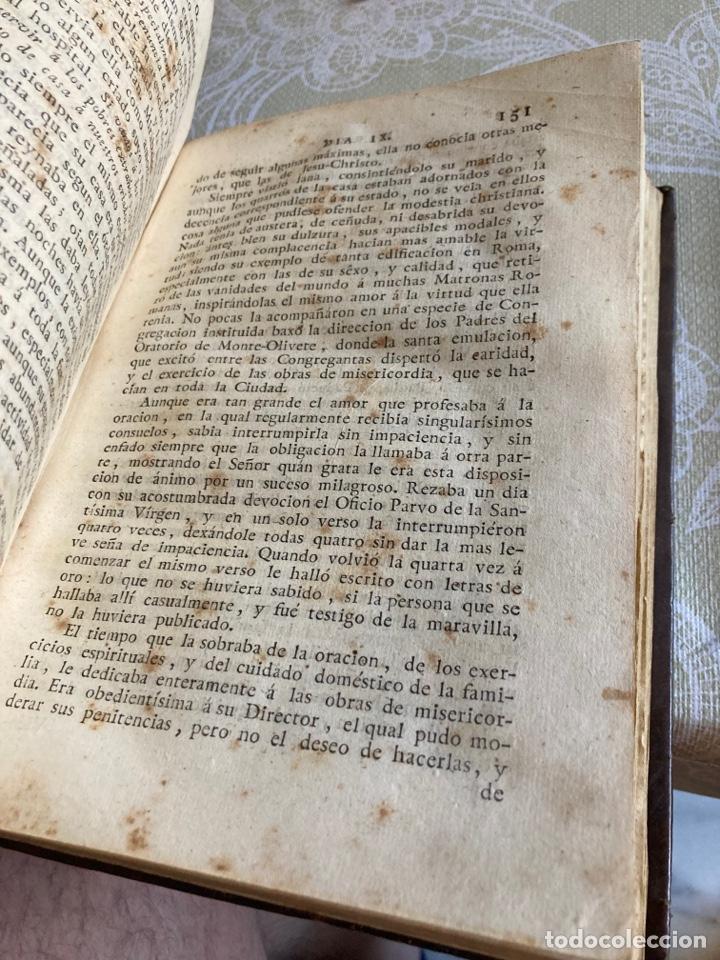 Libros antiguos: Lote de 2 libros año cristiano 1795, primera edición - Foto 8 - 288338918