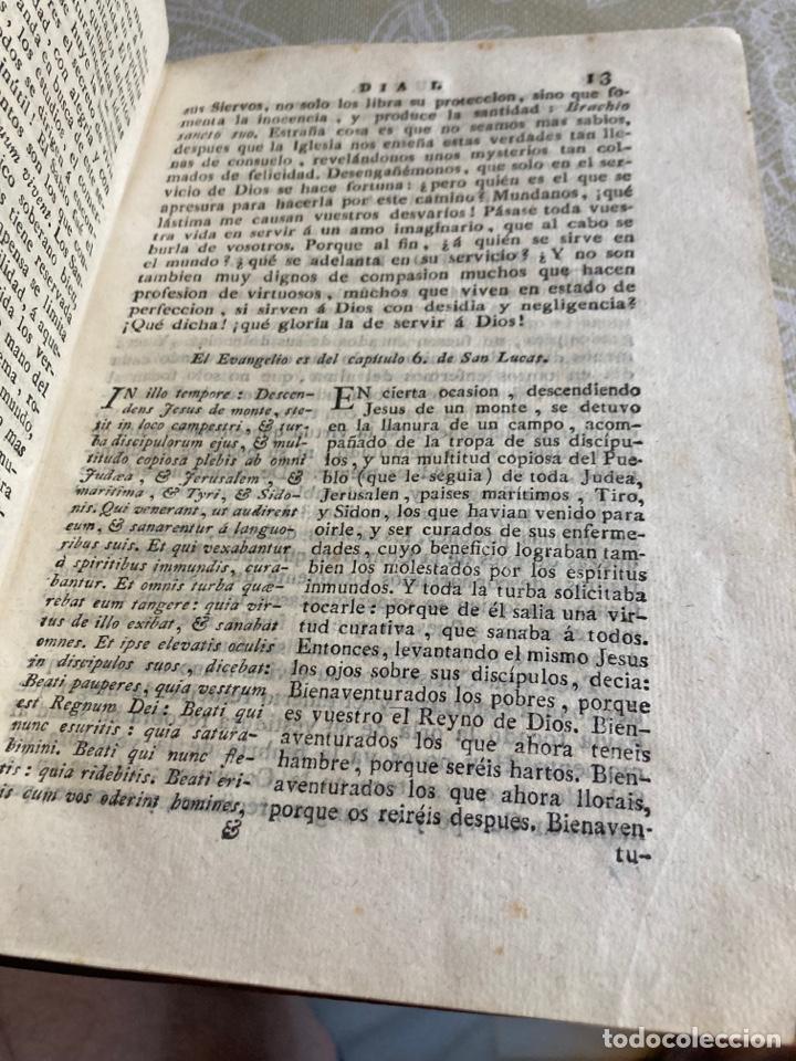 Libros antiguos: Lote de 2 libros año cristiano 1795, primera edición - Foto 13 - 288338918
