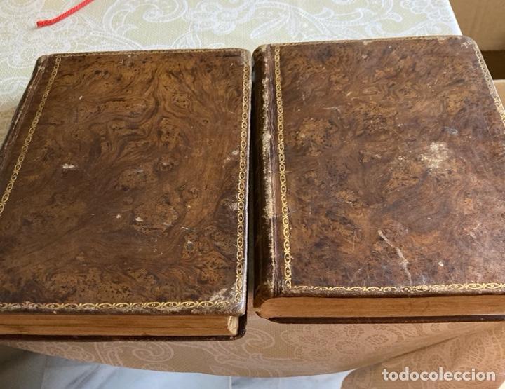 LOTE DE 2 LIBROS AÑO CRISTIANO 1795, PRIMERA EDICIÓN (Libros Antiguos, Raros y Curiosos - Religión)