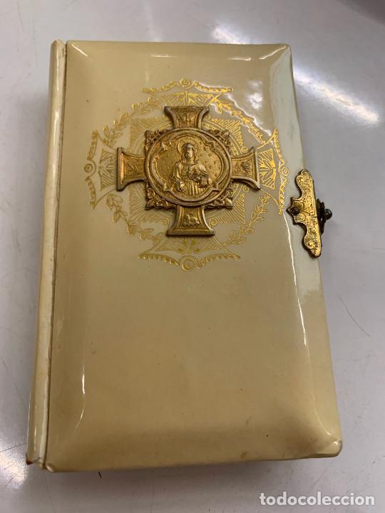 ENCANTADOR MISAL ANTIGUO RAMILLETE DE FLORES DIVINAS. AÑO 1927. (Libros Antiguos, Raros y Curiosos - Religión)