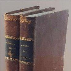 Libros antiguos: HISTORIA DE LA IGLESIA DESDE SU ESTABLECIMIENTO HASTA EL PONTIFICADO DE PIO IX (TOMOS I Y II) (EDICI. Lote 288595473