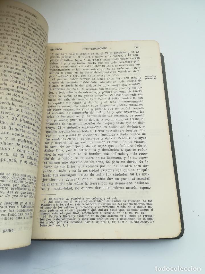 Libros antiguos: SAGRADA BIBLIA. FELIX TORRES AMAT. DIVISIONES PREPARADAS POR SEVERIANO DEL PÁRAMO. 1928. MADRID - Foto 3 - 288898683