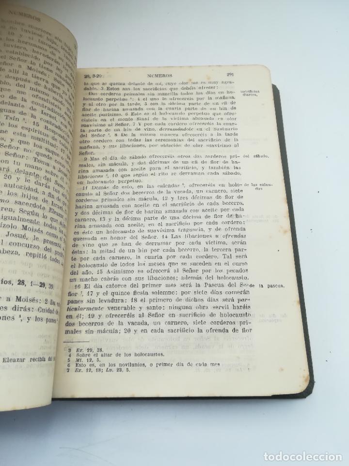 Libros antiguos: SAGRADA BIBLIA. FELIX TORRES AMAT. DIVISIONES PREPARADAS POR SEVERIANO DEL PÁRAMO. 1928. MADRID - Foto 4 - 288898683
