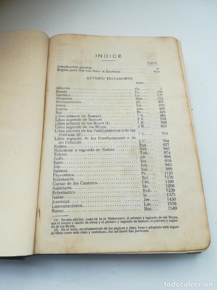 Libros antiguos: SAGRADA BIBLIA. FELIX TORRES AMAT. DIVISIONES PREPARADAS POR SEVERIANO DEL PÁRAMO. 1928. MADRID - Foto 5 - 288898683