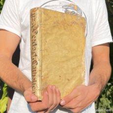 Libros antiguos: 1727 - LUZ DE VERDADES CATHOLICAS - HECHICEROS - ADIVINOS - PERGAMINO - PUEBLA - MÉXICO - MAGIA. Lote 289293703