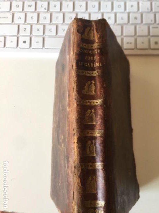 CONDUITS POUR PASSER SAINTEMENT LE TEMPS SU CARÊME PAR RPAVRILLON 1830 (Libros Antiguos, Raros y Curiosos - Religión)
