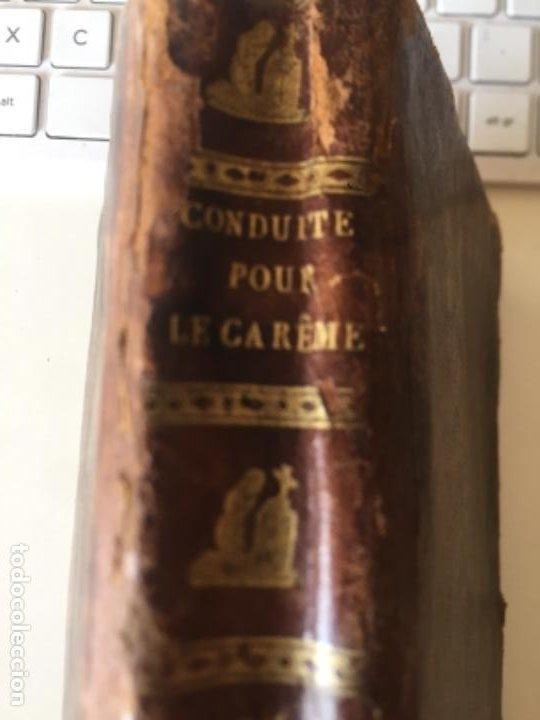Libros antiguos: Conduits pour passer saintement Le temps su Carême par RPAvrillon 1830 - Foto 2 - 289716898