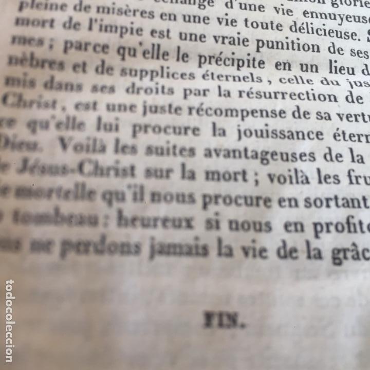Libros antiguos: Conduits pour passer saintement Le temps su Carême par RPAvrillon 1830 - Foto 7 - 289716898
