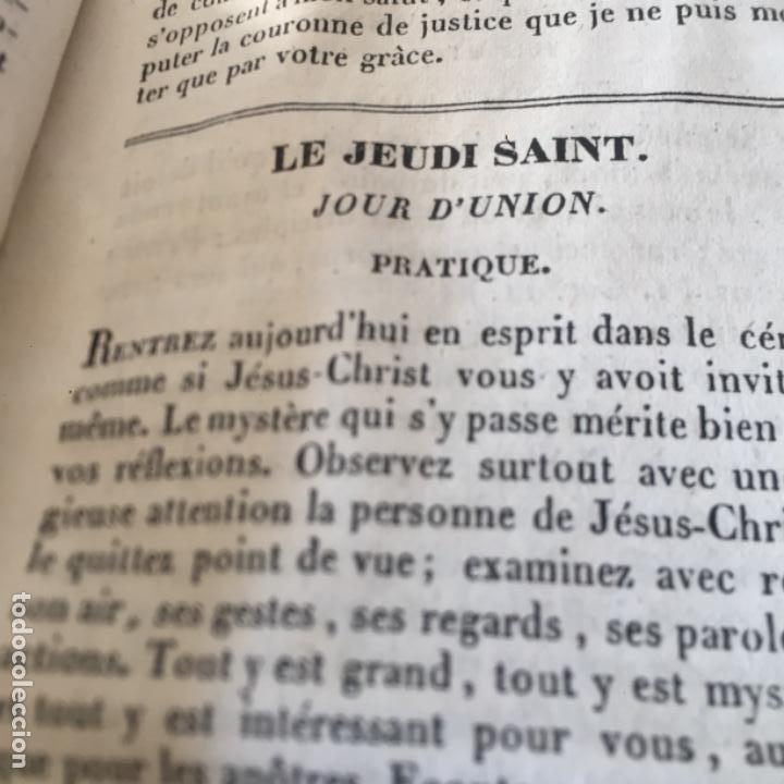 Libros antiguos: Conduits pour passer saintement Le temps su Carême par RPAvrillon 1830 - Foto 9 - 289716898