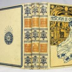 Libri antichi: HISTORIA DE LAS CREENCIAS, SUPERSTICIONES, USOS Y COSTUMBRES. FERNANDO NICOLAŸ MONTANER SIMÓN 1904.. Lote 290459553