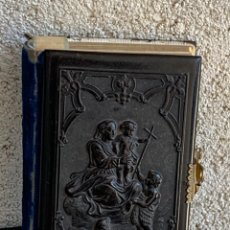 Livros antigos: TAPAS GALATITA VIRGEN MUJER CATOLICA DEVOCIONARIO COMPLETO BARCELONA LLORENS HERMANOS 1867 12X8C. Lote 291241953