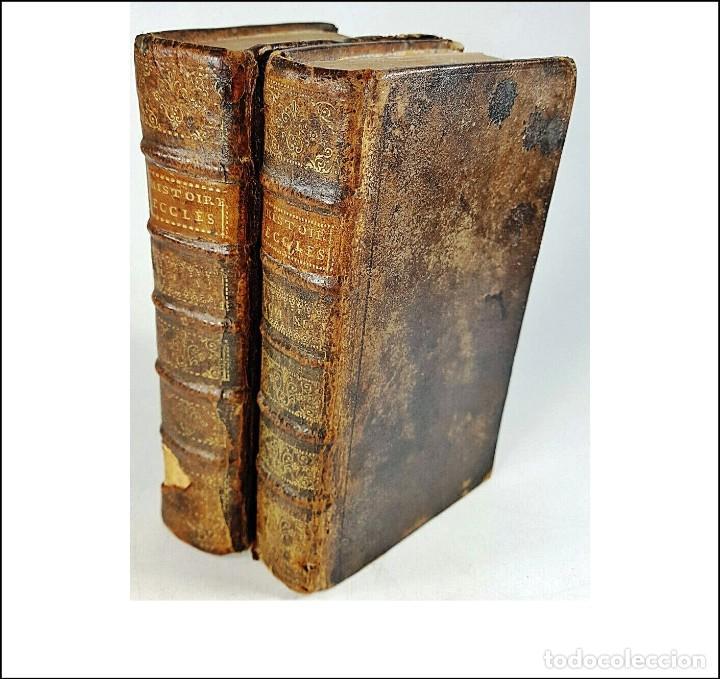 AÑO 1721: 2 TOMOS DEL SIGLO XVIII. (Libros Antiguos, Raros y Curiosos - Religión)