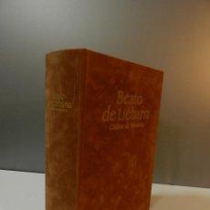 Libros antiguos: FACSIMIL BEATO DE LIÉBANA CÓDICE DE NAVARRA - EDITORIAL MILLENIUM LIBER - INCLUYE LIBRO ESTUDIOS -. Lote 292086003