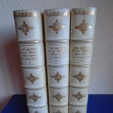 Libri antichi: (LI-211001)LAS IMATGES DE LA VERGE I DELS SANTS A CATALUNYA, VV. AA. 1928 SABADELL. BARCELONA. 1928. Lote 293239168