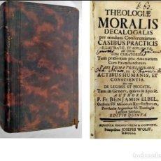 Libros antiguos: AÑO 1751: LIBRO DEL SIGLO XVIII.. Lote 293451693