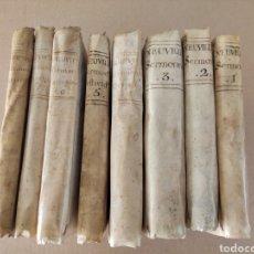 Libros antiguos: 1777 SERMONES DEL PADRE CARLOS FREY DE NEUVILLE TRADUCIDOS DEL FRANCES POR JULIÁN CERÓN Y PONTELA. Lote 294151393