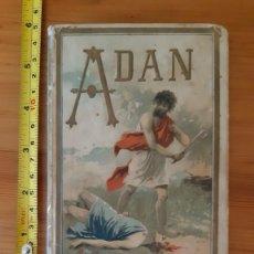 Libros antiguos: ADAN. NARRACIONES BÍBLICAS. MADRID, SATURNINO CALLEJA, 1894. Lote 295438683