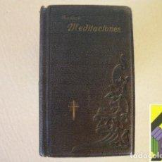 Libros antiguos: BOUILLERIE, MONSEÑOR DE LA (OBISPO DE CARCASSONE): MEDITACIONES SOBRE LA EUCARISTÍA. Lote 296799483