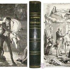 Libros antiguos: 1867 - HISTORIA DE LAS CLASES TRABAJADORAS - LAMINAS - RARA. Lote 19026092