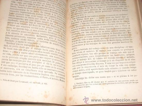 Libros antiguos: El Carácter, por Samuel Smiles - GARNIER - París - 1900 - Hermoso ejemplar - Foto 2 - 26943326