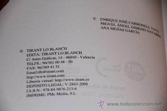Libros antiguos: EL ACOSO LABORAL ANTES LLAMADO MOBBING, TIRANT LO BLANC, VALENCIA 2008. - Foto 3 - 30447074