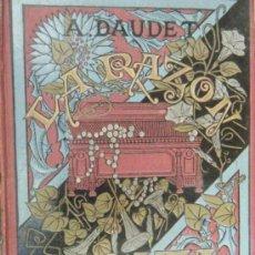 Libros antiguos: LA RAZÓN SOCIAL . FROMONT Y RISLER. DE ALFONSO DAUDET. 1883. Lote 32878662