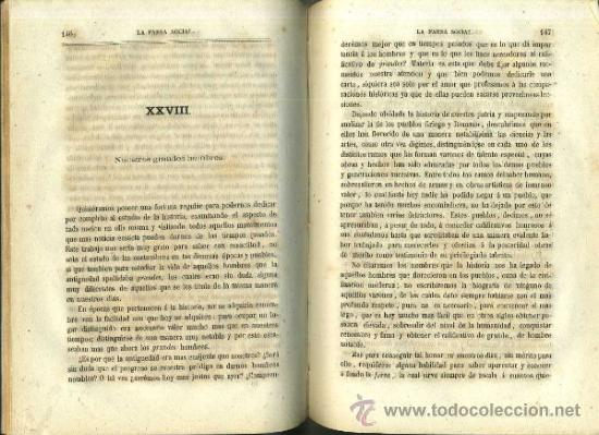 Libros antiguos: RIBÓ : LA FARSA SOCIAL. CARTAS A EMILIO (JAIME JEPÚS, 1865) - Foto 2 - 34470839
