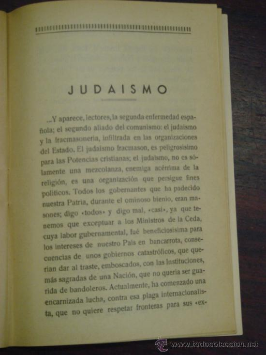 Libros antiguos: MARXISMO, JUDAISMO Y MASONERIA. Folleto social. 1936 - Foto 4 - 36921587