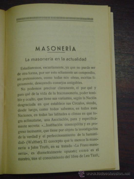 Libros antiguos: MARXISMO, JUDAISMO Y MASONERIA. Folleto social. 1936 - Foto 5 - 36921587
