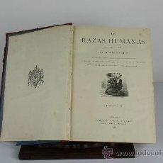Libros antiguos: 6074- LAS RAZAS HUMANAS. FEDERICO RATZEL. EDIT. MONTANER Y SIMON. TOMO I. 1888.. Lote 38519316