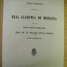 Libros antiguos: EL SUICIDIO ENFERMEDAD SOCIAL Y SU TRATAMIENTO - RICARDO PEREZ VALDES. Lote 38831122