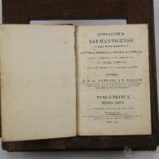 Libros antiguos: 4188- COMPENDIUM SALMANTICENSE. ANTONIO S. JOSEPH. EDIT. SUPREMIS CASTELLAE SENATUS. 3 V. 1817.. Lote 40985146
