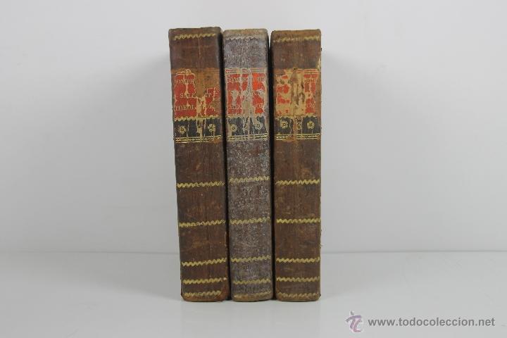 Libros antiguos: 4188- COMPENDIUM SALMANTICENSE. ANTONIO S. JOSEPH. EDIT. SUPREMIS CASTELLAE SENATUS. 3 V. 1817. - Foto 3 - 40985146