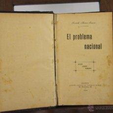 Libros antiguos: 4435- EL PROBLEMA NACIONAL. RICARDO MACIAS. LIB. VICTORIANO SUAREZ. 1899. . Lote 41397801