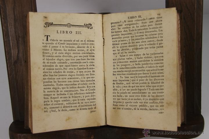 Libros antiguos: D-051. EL HOMBRE FELIZ INDEPENDIENTE DEL MUNDO.TEODORO DE ALMEIDA. IMP. BENITO CANO, 1786. 3 VOL. - Foto 2 - 41722455