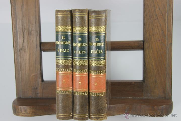 Libros antiguos: D-051. EL HOMBRE FELIZ INDEPENDIENTE DEL MUNDO.TEODORO DE ALMEIDA. IMP. BENITO CANO, 1786. 3 VOL. - Foto 6 - 41722455