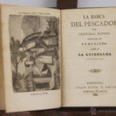 Libros antiguos: D-060. BIBLIOTECA MORAL-RECREATIVA. COLECCION DE 22 TITULOS. VARIOS AUTORES Y EDITORIALES. 1862. . Lote 41772579