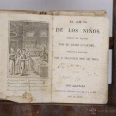 Libros antiguos: 4660- EL AMIGO DE LOS NIÑOS. F. JOSE DE TORO. IMP. SERRA Y MARTI. 1826. . Lote 43509971
