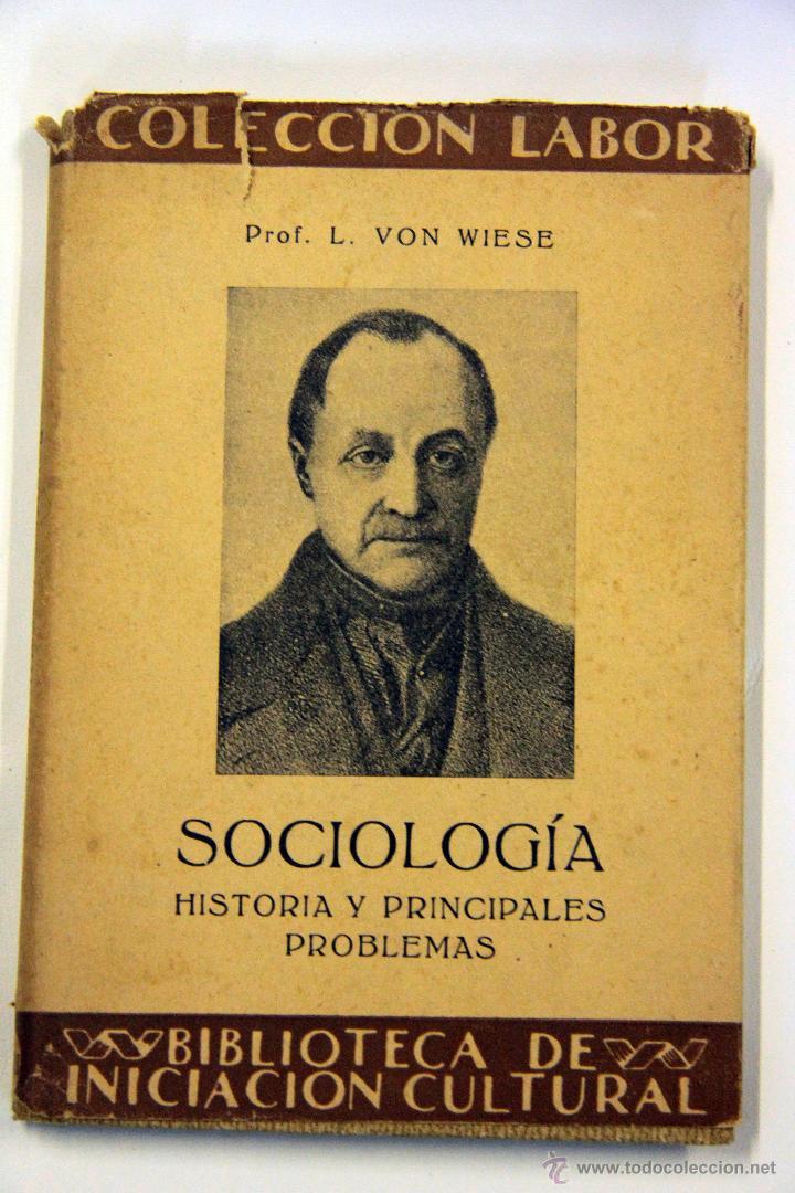 SOCIOLOGÍA, COLECCIÓN LABOR. 1932 (Libros Antiguos, Raros y Curiosos - Pensamiento - Sociología)