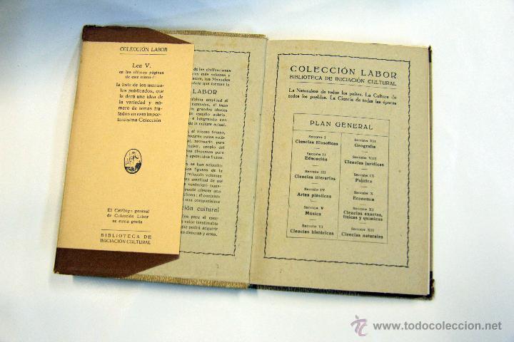 Libros antiguos: SOCIOLOGÍA, COLECCIÓN LABOR. 1932 - Foto 2 - 45252416