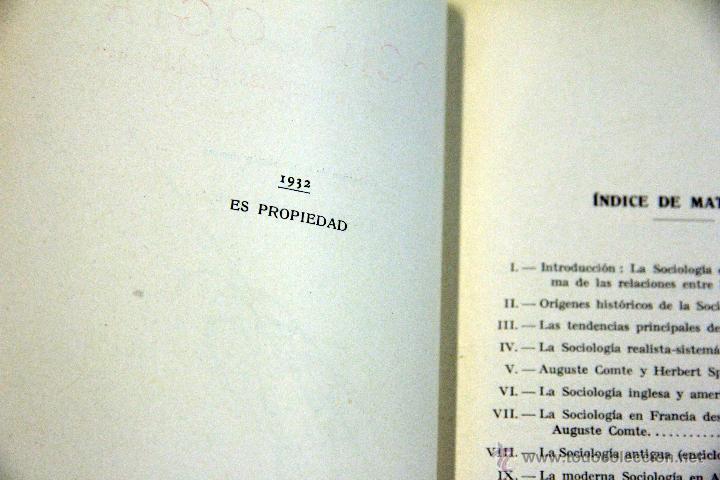 Libros antiguos: SOCIOLOGÍA, COLECCIÓN LABOR. 1932 - Foto 3 - 45252416
