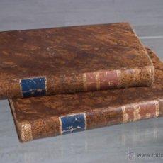 Libros antiguos: LOS DESGRACIADOS (CUADROS SOCIALES) ENRIQUE PEREZ ESCRICH-1872 2 TOMOS (OBRA COMPLETA). Lote 50956256