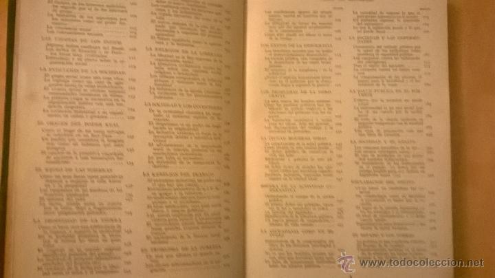 Libros antiguos: COLECCION MODERNA DE CONOCIMIENTOS UNIVERSALES (LA SOCIEDAD HUMANA) - JACKSON INC. - 1928 - Foto 4 - 53345028