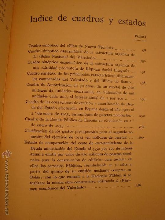 Libros antiguos: EL VALESTADO - MARTINEZ VILLAR - LA IBERICA BARCELONA 1935 - Foto 4 - 53631055