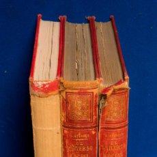 Libros antiguos: EL UNIVERSO SOCIAL. SOCIOLOGIA GENERAL Y DESCRIPTIVA. 3 TOMOS. HERIBERTO SPENCER. 1883-84.. Lote 55694264