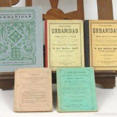 Libros antiguos: 7574 - COLECCIÓN DE PUBLICACIONES DE URBANIDAD. VV. AA. (VER DESCRIP). 1865-1949.. Lote 57104252