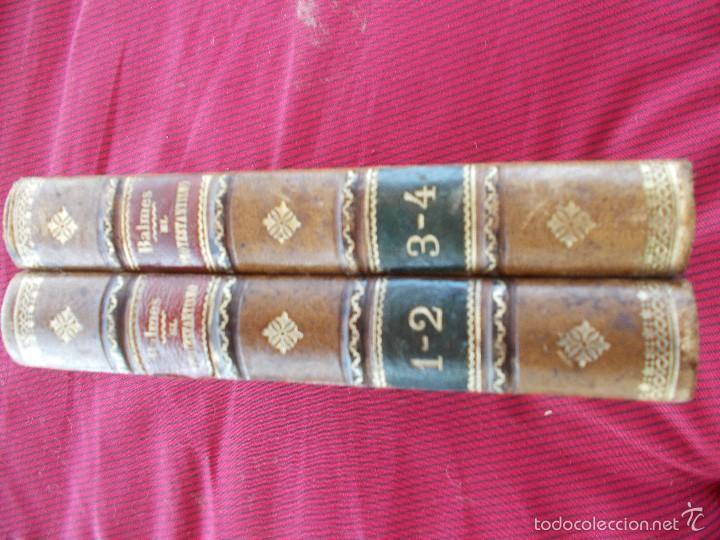 EL PROTESTANTISMO, DE BALMES, EN 2 TOMOS. DEL AÑO 1.895 (Libros Antiguos, Raros y Curiosos - Pensamiento - Sociología)