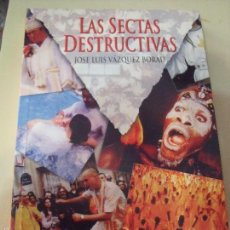 Libros antiguos: SECTAS DESTRUCTIVAS. Lote 57731952