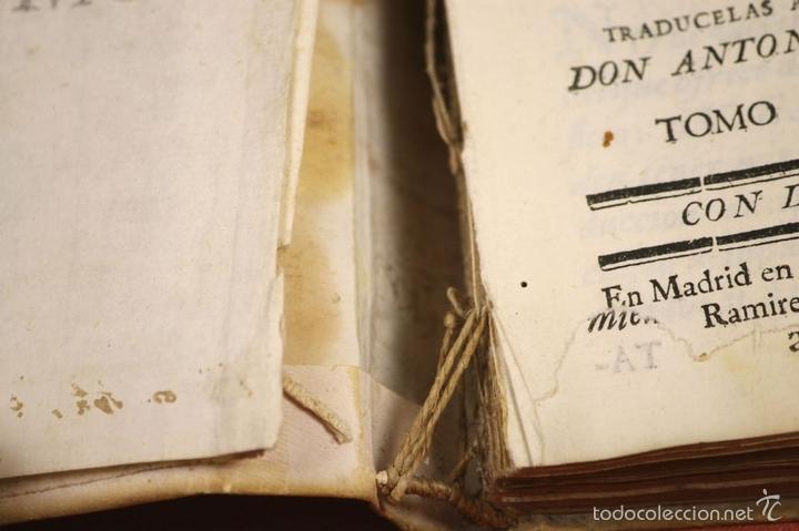 Libros antiguos: LP-296 - CARTAS CRÍTICAS SOBRE VARIAS QUESTIONES. TOMO IV. COSTANTINI. IMP. A. RAMIREZ. 1775. - Foto 4 - 60778427